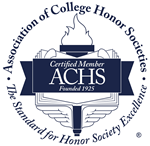 Member of the Association of College Honor Societies